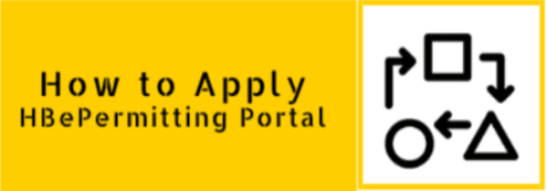 How to Apply for HBePermitting Portal