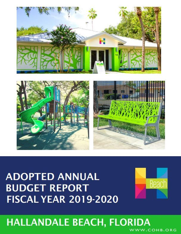 Budget Report Cover FY 2019-2020