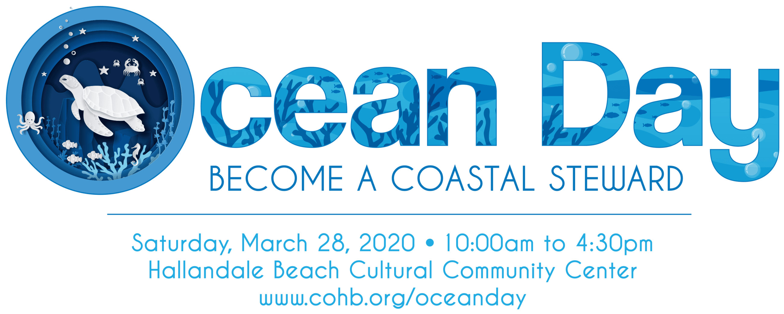 Ocean Day March 28 10 am to 430 pm at the Cultural Center Opens in new window