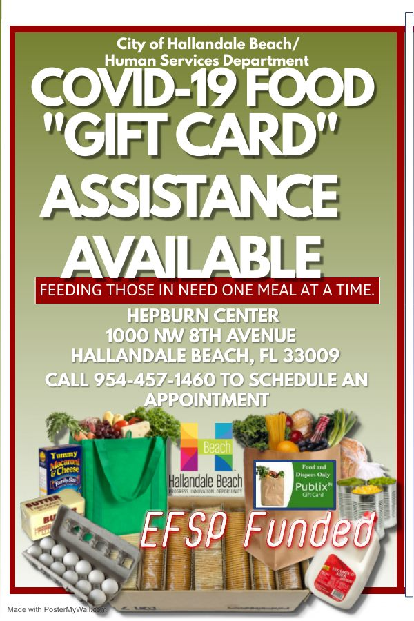 COVID CARES Publix gift card