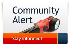 Community Alerts - Stay informed